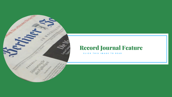 record journal banner